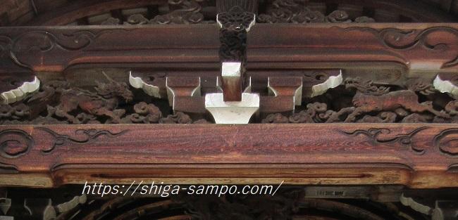 西教寺 唐門の麒麟