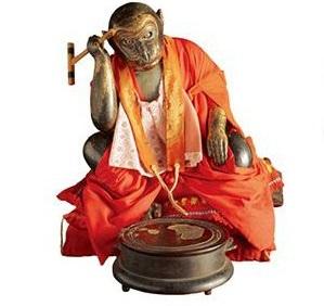 西教寺の手白猿