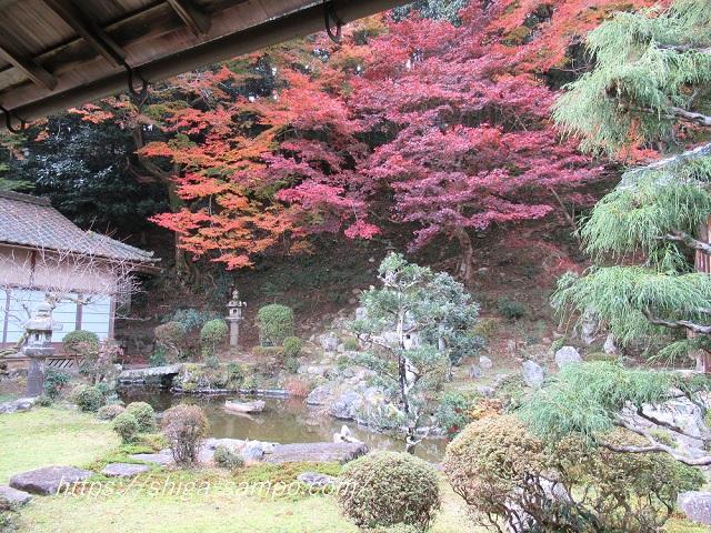 西教寺の庭園