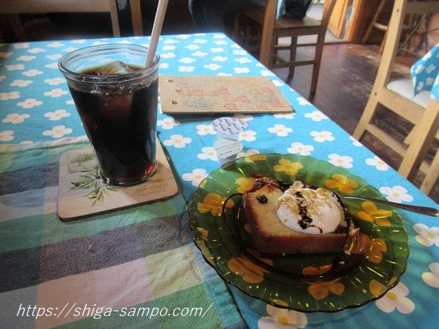 森のカフェ ケーキセット