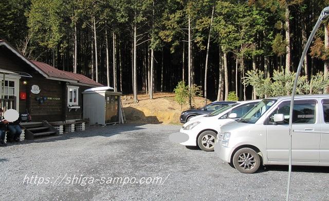 森のカフェ 駐車場