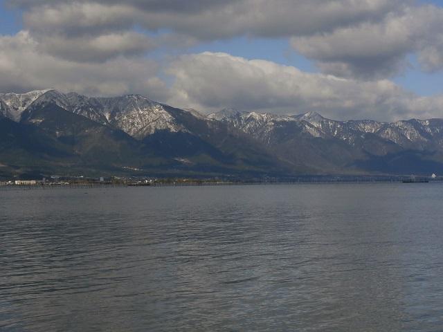 比良山の積雪