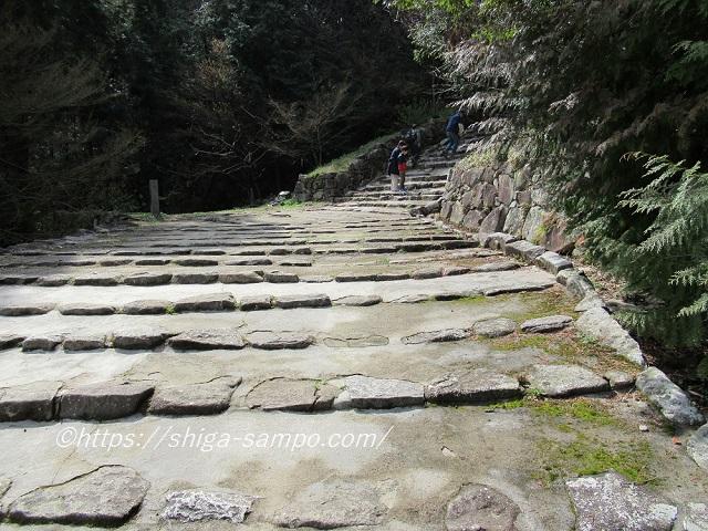 安土城跡 石段