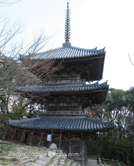 摠見寺 三重塔