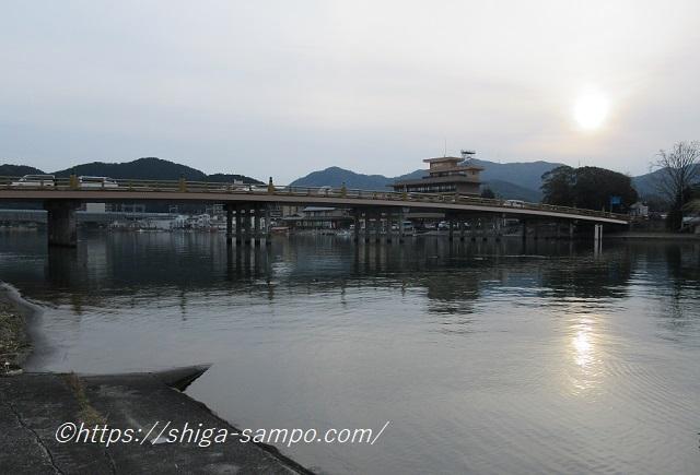 瀬田の夕照
