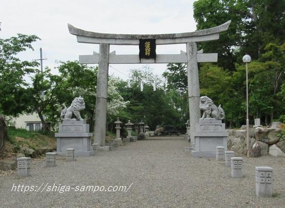 沙沙貴神社 参道