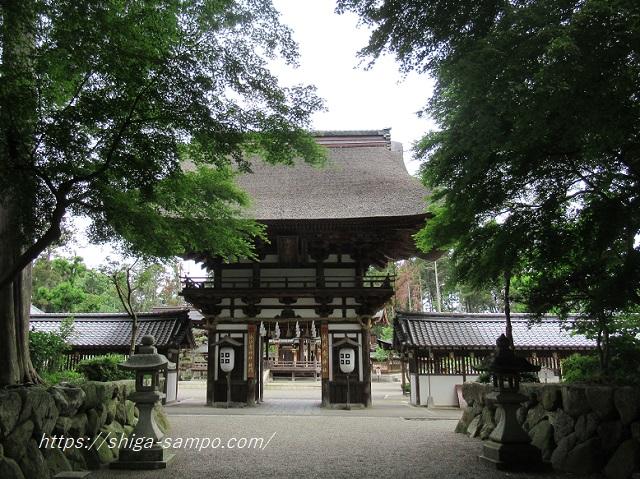 沙沙貴神社 楼門