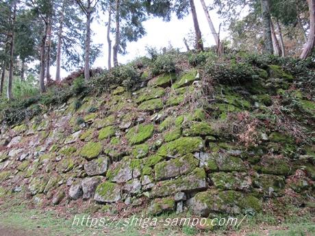 安土城の石垣(穴太衆)