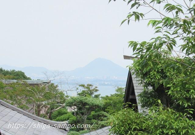 滋賀院門跡 三上山