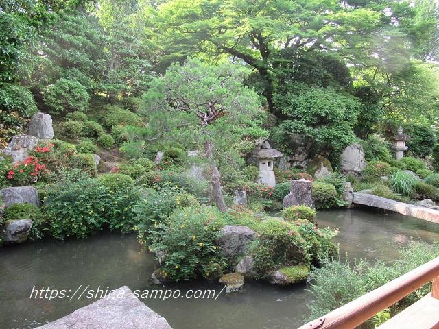 滋賀院門跡 庭園