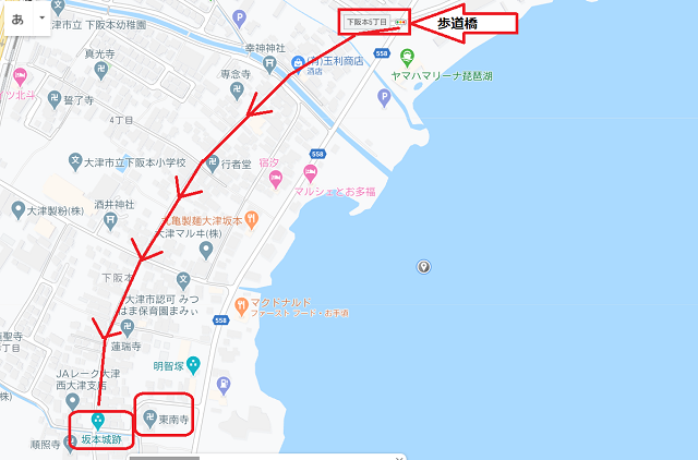 東南寺MAP